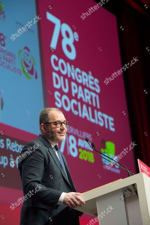 Editorial image of French socialist party 78th congress, Paris, France - 07 Apr 2018