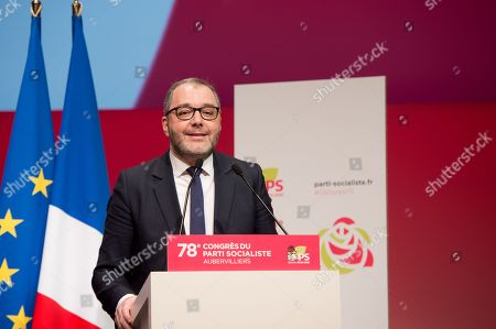 Editorial picture of French socialist party 78th congress, Paris, France - 07 Apr 2018