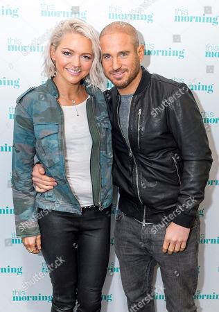 Hannah Spearritt and boyfriend Adam