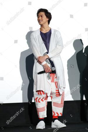 Japanese actor Gaku Sano