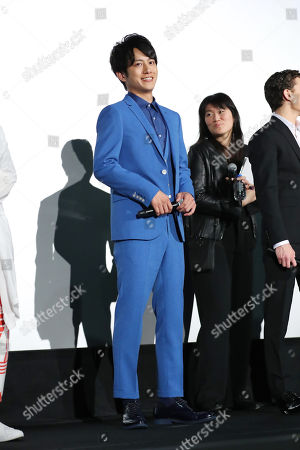 Stock Image of Japanese actor Junpei Mizobata