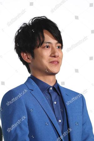 Stock Photo of Japanese actor Junpei Mizobata