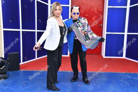 Simona Izzo and Cristiano Malgioglio