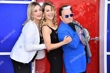 Editorial image of 'Grande Fratello' TV photocall, Rome, Italy - 16 Apr 2018