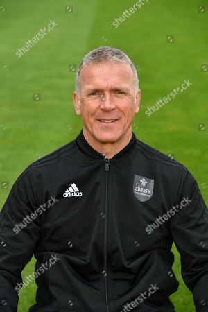 Sir Alec Stewart during the Surrey County Cricket Club Media Day at the Kia Oval, Kennington. Picture by Alistair Wilson