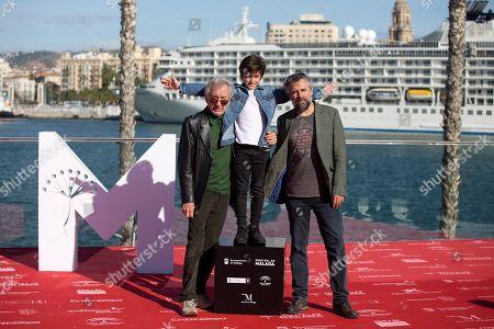 Jose Sacristan, Sandro Ballesteros and Pau Dura