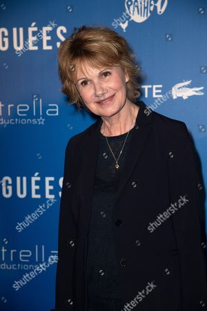 Editorial image of 'Larguees' film premiere, Paris, France - 12 Apr 2018