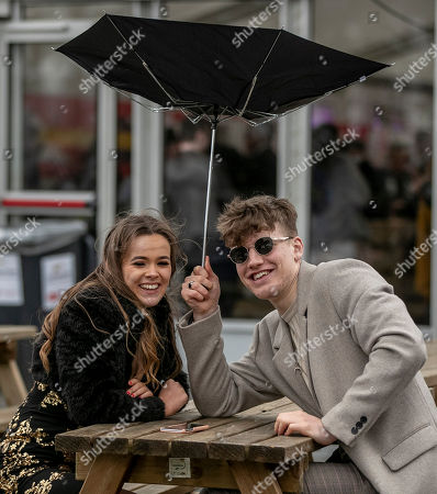 Editorial photo of Leopardstown SPIN 1038 Student Race Day, Leopardstown Racecourse, Dublin  - 16 Apr 2018