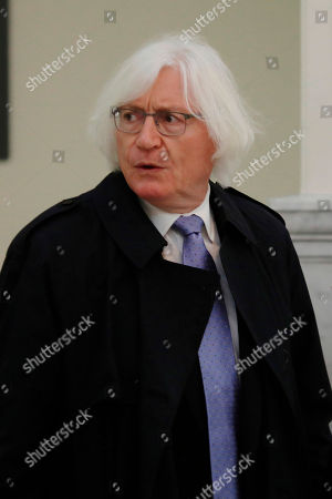 Tom Mesereau, lawyer for actor and comedian Bill Cosby, arrives for the sixth day of his sexual assault retrial at the Montgomery County Courthouse in Norristown, Pennsylvania, U.S