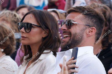 Ella Longoria, Victoria Beckham, Ricky Martin