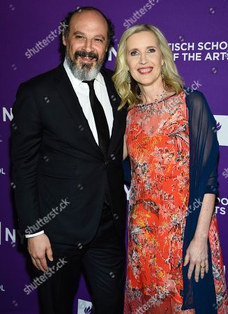 Eddy Moretti, Allyson Green. Vice Media chief creative officer and honoree Eddy Moretti and Dean of the NYU Tisch School of the Arts Allyson Green attend the NYU Tisch School of the Arts gala at Capitale, in New York