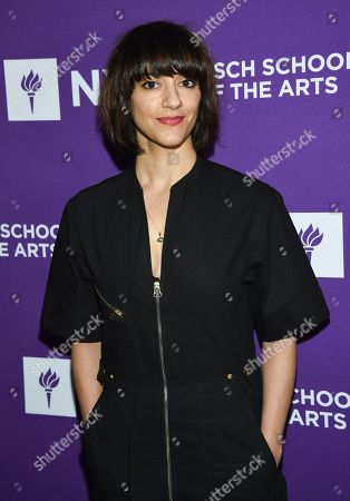 Stock Photo of Director Ana Lily Amirpour attends the NYU Tisch School of the Arts gala at Capitale, in New York