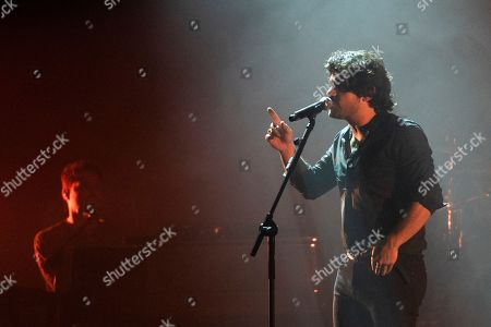 Editorial picture of Alessandro Mannarino in concert at the Teatro Augusteao, Naples, Italy - 16 Apr 2018