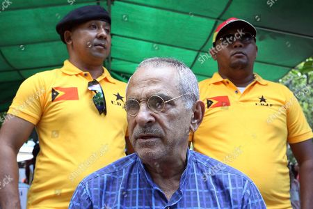 Jose Ramos Horta. Nobel peace prize laureate and former East Timorese President Jose Ramos-Horta talks to journalists in Dili, East Timor. Ramos-Horta waded back into the young country's politics ahead of parliamentary elections next month, calling the government a total failure in the past decade in crucial areas such as reducing child malnutrition and providing clean water
