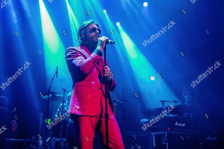 """Jesse Hughes performs at the """"Above Ground"""" Benefit Concert at Belasco Theater, in Los Angeles"""
