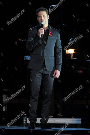 Editorial image of From Broadway With Love benefit concert for Parkland, Backstage, The BB&T Cente, Sunrise, USA - 16 Apr 2018