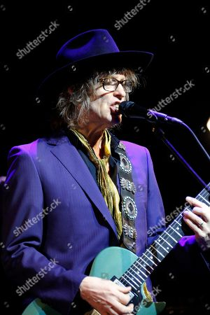 Editorial image of The Waterboys in concert, Cirkus, Stockholm, Sweden - 16 Apr 2018