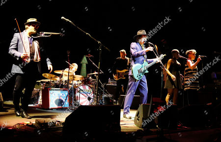 Stock Picture of The Waterboys - Mike Scott