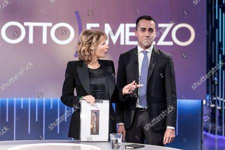 Journalist Lilli Gruber, Luigi Di Maio, Leader of 5 Star Movement