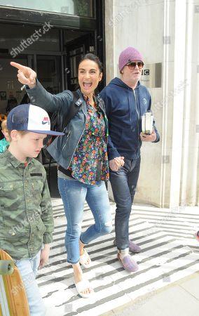 Chris Evans, Natasha Evans, son Noah