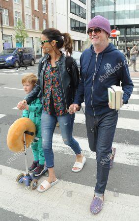 Chris Evans, Natasha Evans, son Eli