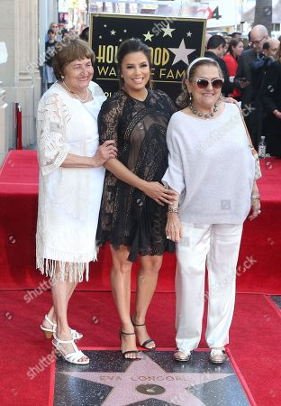 Editorial picture of Eva Longoria honored with a star on the Hollywood Walk of Fame, Los Angeles, USA - 16 Apr 2018