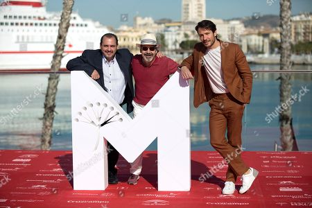 Joaquin Nunez, Manuel Moron and Alejandro Albarracin