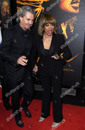 Stock Photo of Tina Turner and Erwin Bach
