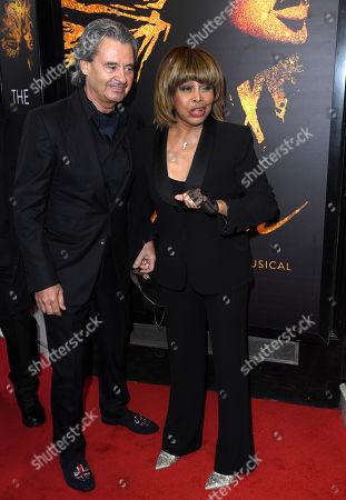 Tina Turner and Erwin Bach