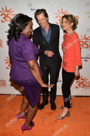 Margarette Purvis, Kevin Bacon and Kyra Sedgwick
