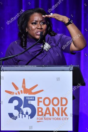Editorial image of Food Bank for New York City Can Do Awards Dinner, Inside, New York, USA - 17 Apr 2018