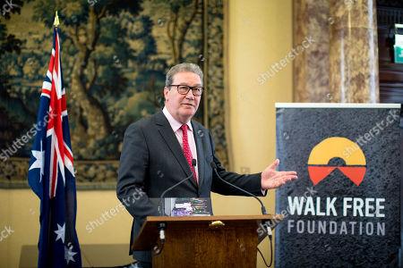 Australian High Commissioner to the UK Alexander Downer