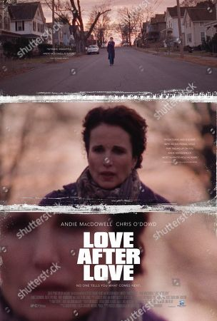 Love After Love (2017) Poster Art. Andie MacDowell