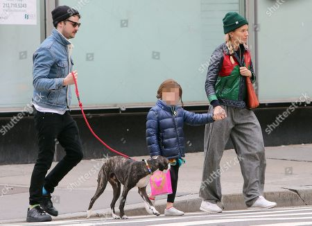 Editorial photo of Sienna Miller and Tom Sturridge out and about, New York, USA - 17 Apr 2018