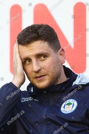 Wigan?s Alex Bruce