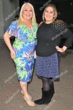 Stock Photo of Vanessa Feltz and Saskia Kurer