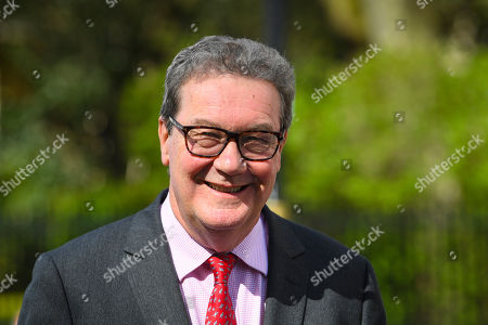 Outgoing Australian High Commissioner to the United Kingdom Alexander Downer attends a press conference in London, Britain, 17 April 2018. Leaders from 53 Nations will be attending the Commonwealth Heads of Government Meeting (CHOGM) 2018.