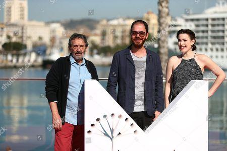 Ricardo Merkin, Andre Ristum and Stephanie de Jongh
