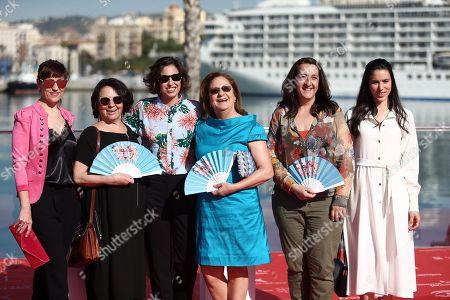 Marta Diaz, Pepa Aniorte, Rosario Pardo, Rocio Molina, Carmen Flores, Gloria Muñoz