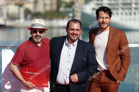 Stock Image of Manuel Moron, Joaquin Nunez and Alejandro Albarracin