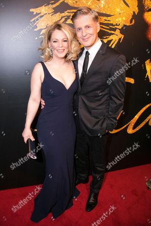 Francesca Jackson (Rhonda Graam) and Gerard McCarthy (Erwin Bach)