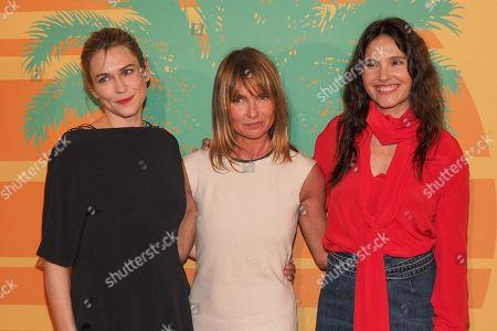 Marie-Josee Croze, Axelle Laffont and Virginie Ledoyen
