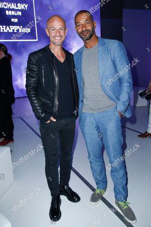Peyman Amin and Tyron Ricketts