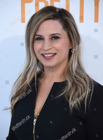"""Mary Viola arrives at the world premiere of """"I Feel Pretty"""" at the Westwood Village Theater, in Los Angeles"""