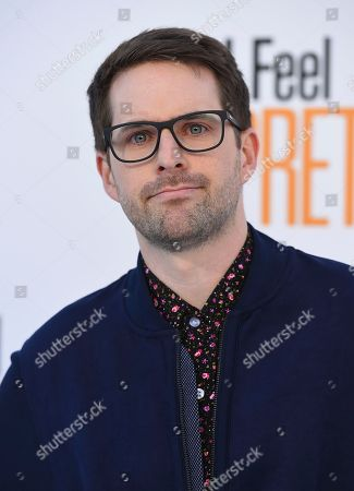 """Ian Hecox arrives at the world premiere of """"I Feel Pretty"""" at the Westwood Village Theater, in Los Angeles"""