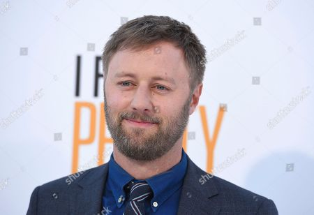 "Rory Scovel arrives at the world premiere of ""I Feel Pretty"" at the Westwood Village Theater, in Los Angeles"
