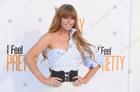 "Editorial image of World Premiere of ""I Feel Pretty"", Los Angeles, USA - 17 Apr 2018"