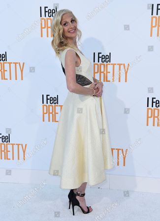 "Director/writer Abby Kohn arrives at the world premiere of ""I Feel Pretty"" at the Westwood Village Theater, in Los Angeles"