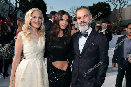 Stock Image of Abby Kohn, Writer/Director, Emily Ratajkowski, Marc Silverstein, Writer/Director,