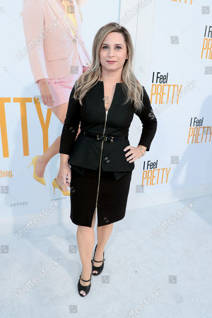 Editorial picture of STX Films presents the World film Premiere of 'I Feel Pretty' at Regency Village Theatre, Los Angeles, CA, USA - 17 Apr 2018